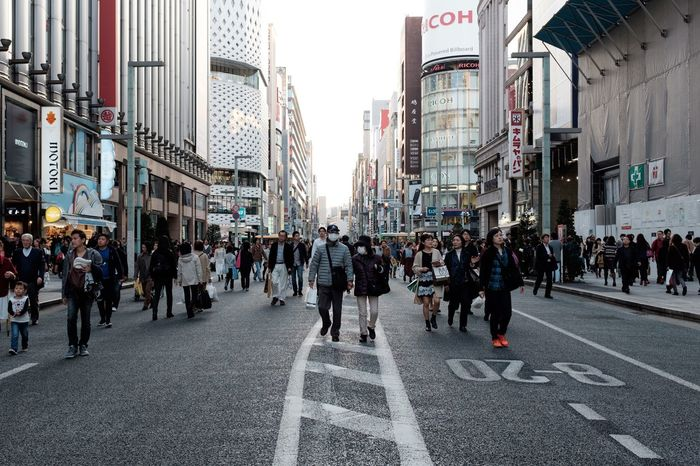 Street City City Street Walking City Life People Architecture Day Japan Tokyo