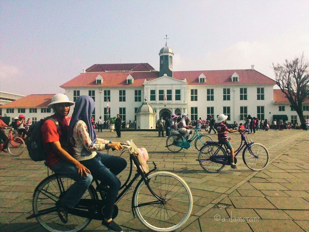 Enjoying Life How's The Weather Today? Everyday Joy Vscocam VSCO Vscovsco Jakartacity  Tagsforlike Bicycle Loveindonesia