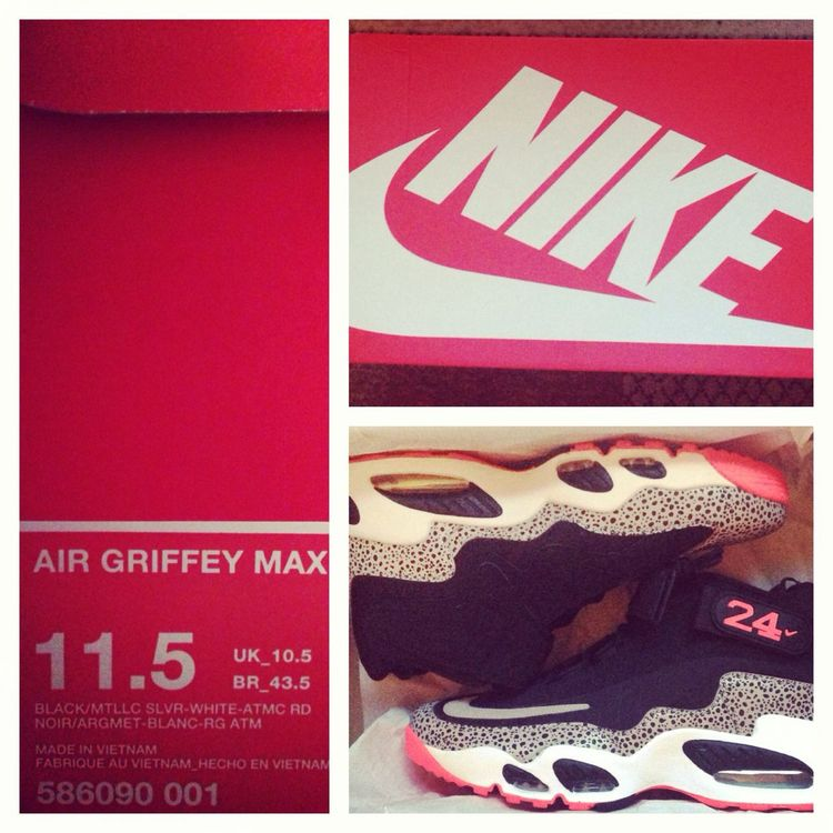 Jus got these Nike Griffeys Sneakerhead
