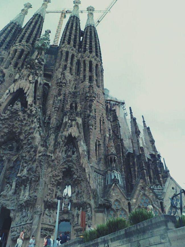 Tbt Summer SPAIN 2012memories Taking Photos Sagrada Familia Gaudi First Eyeem Photo