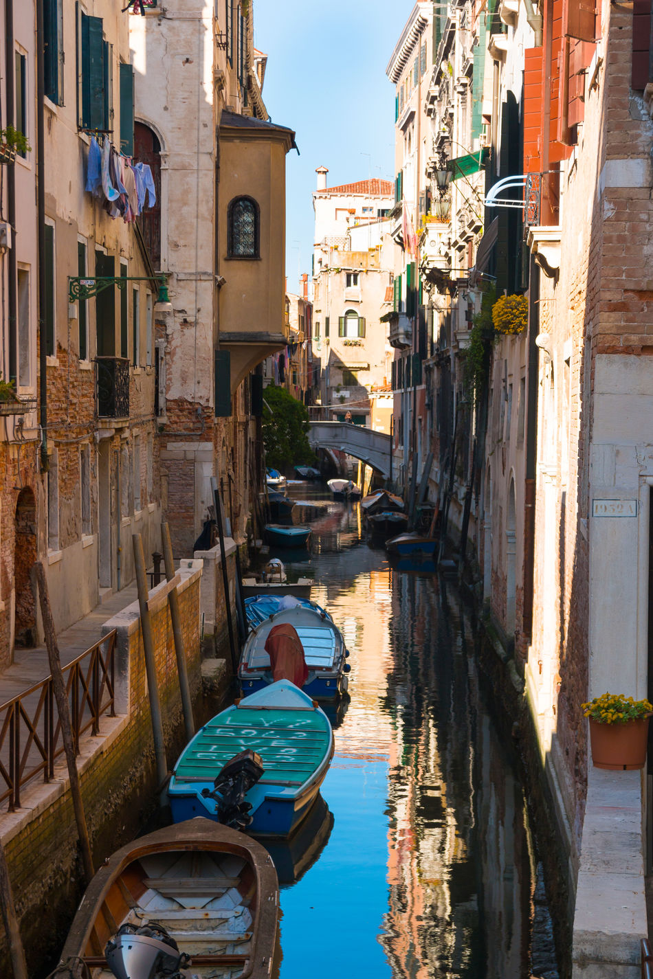 Architecture Building Exterior Built Structure Canal Day Italy Moored Nautical Vessel No People Outdoors Sky Transportation Venice, Italy Water