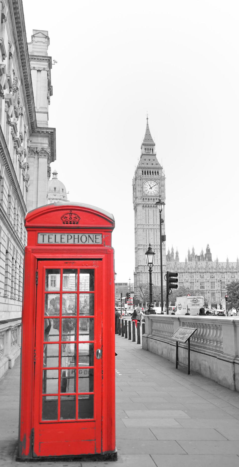 England🇬🇧 LONDON❤ Cityscape Red Telephone Box Photography Black & White 英伦 伦敦 市景 黑白 电话亭 The Street Photographer - 2016 EyeEm Awards The Architect - 2016 EyeEm Awards
