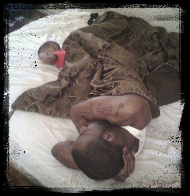 Our Son N My Man/Babydaddy Quent Aka Pressure