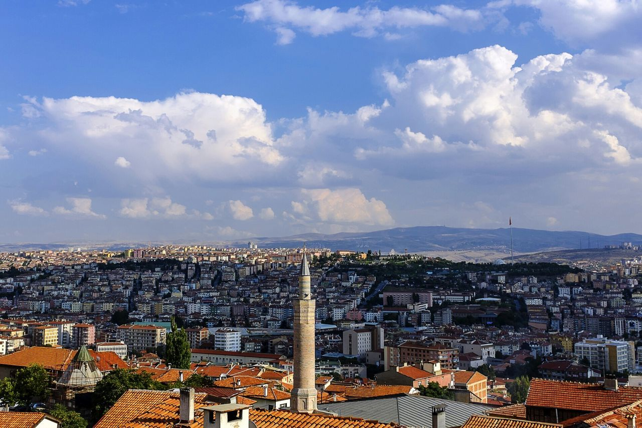 Cityscapes Color City Urban Architecture Traveling Turkey Tower City Life