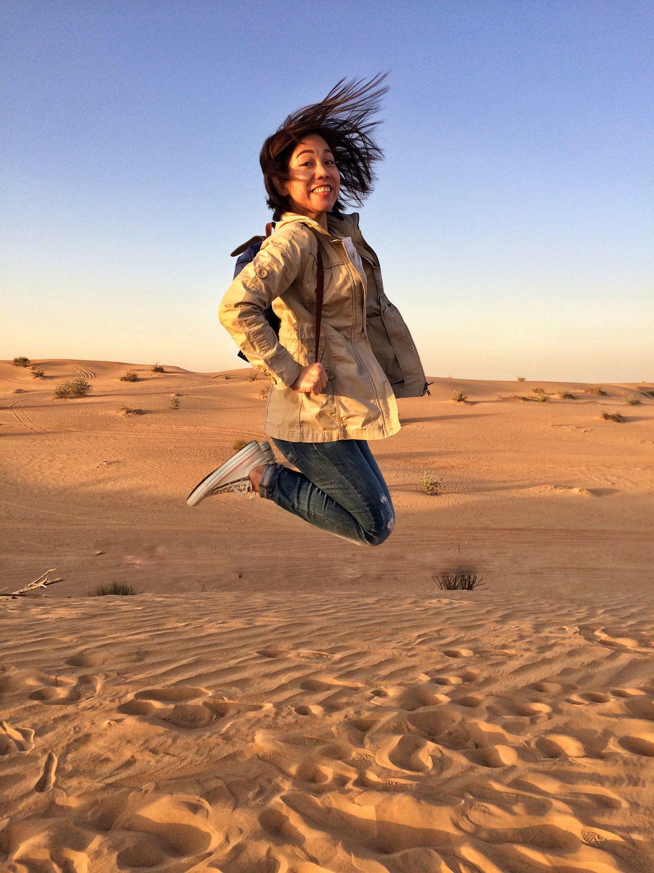 Sand One Person Desert Sand Dune EyeEmNewHere