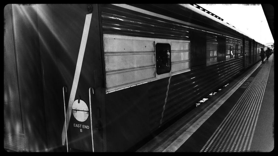 Taking Photos @ Southerncrossstation Vline Train