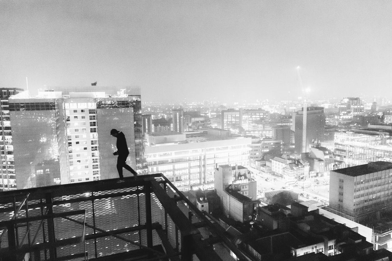 Creating memories Architecture Cityscape Illuminated Silhouette_collection Urbex