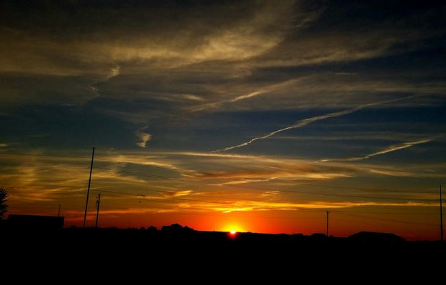 Sunset Tranquil Scene Cloud - Sky Taking Photos sunset #sun #clouds #skylovers #sky #nature #beautifulinnature #naturalbeauty photography landscape