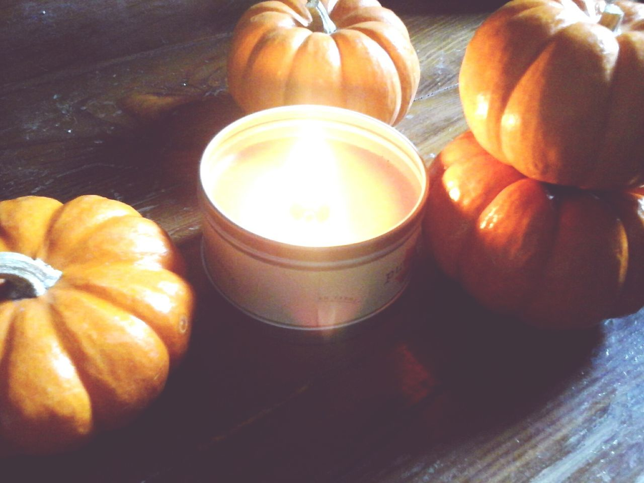 Orange Pumpkins Tiny Pumpkin Pumpkin Bright Orange Orange Pumpkin Still Life Falltime Fall Relaxing Cozy At Home Table Group Of Objects No People Indoors  Close-up Freshness Flame Just Relax Cozytime Indoors  Fall Favorites Orange Hanging Out Candle