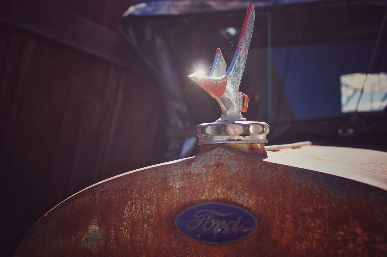 Flame Burning Indoors  Fire - Natural Phenomenon Close-up Heat - Temperature Melting Religious Offering Focus On Foreground Old Old Car Hood Ornament Rusty Autos