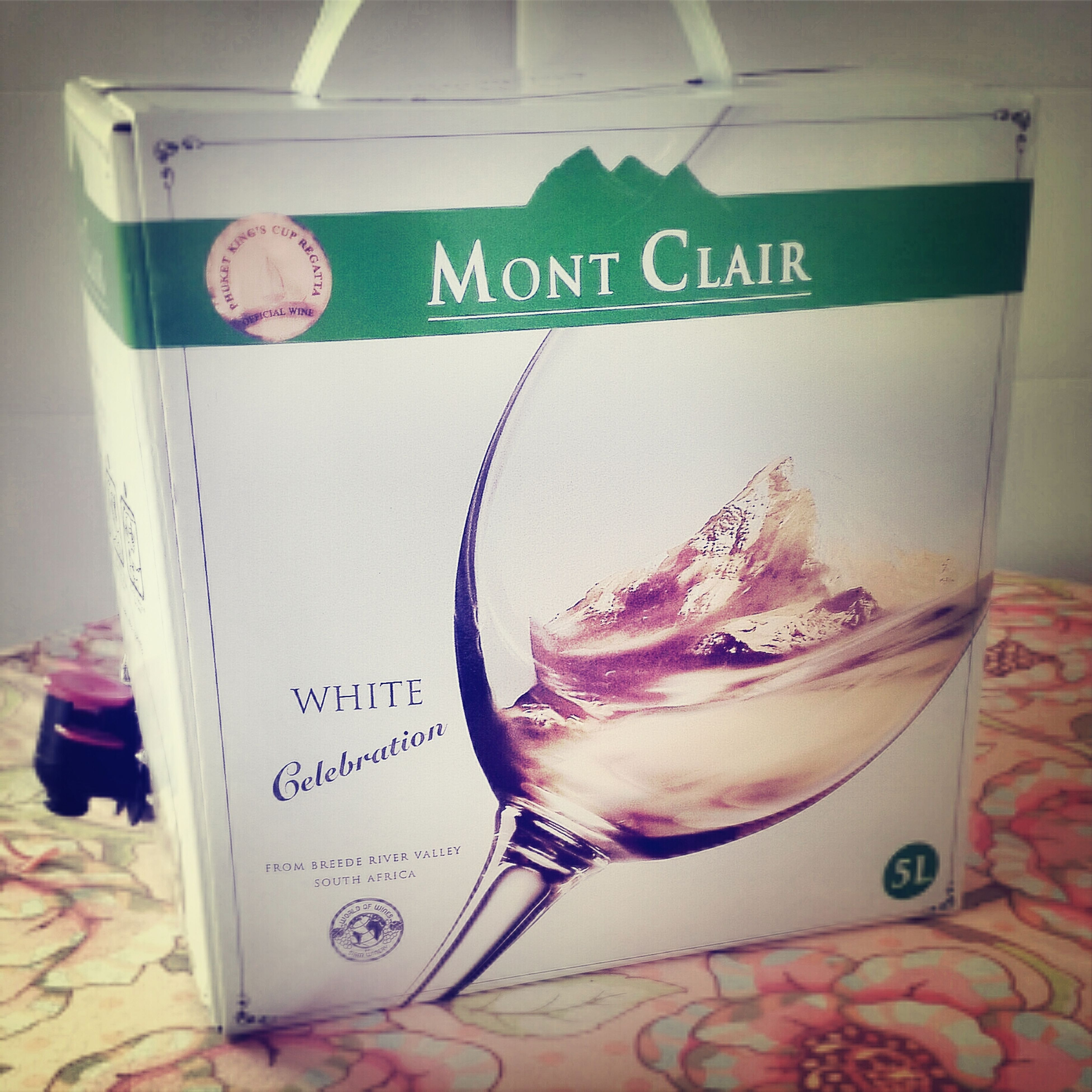 A bottle ? Will br gonr too soon so I git myself rhis ^_^ should be survived for couple days.... White Wine Enjoying Life