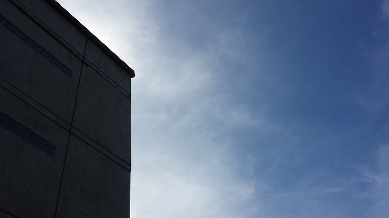 low angle view, architecture, sky, built structure, building exterior, no people, day, outdoors, nature