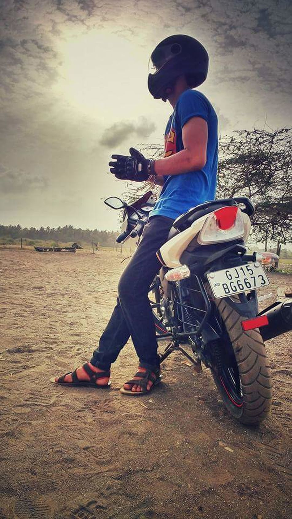 What Who Where One Person Full Length Skill  One Boy Only Outdoors Adult Day Sky Clouds And Sky Rider Rider Ridersonthestorm Riderforlife Sony DSCW800 Photography Photohraphers_of_India Nature_perfection Nature Lover