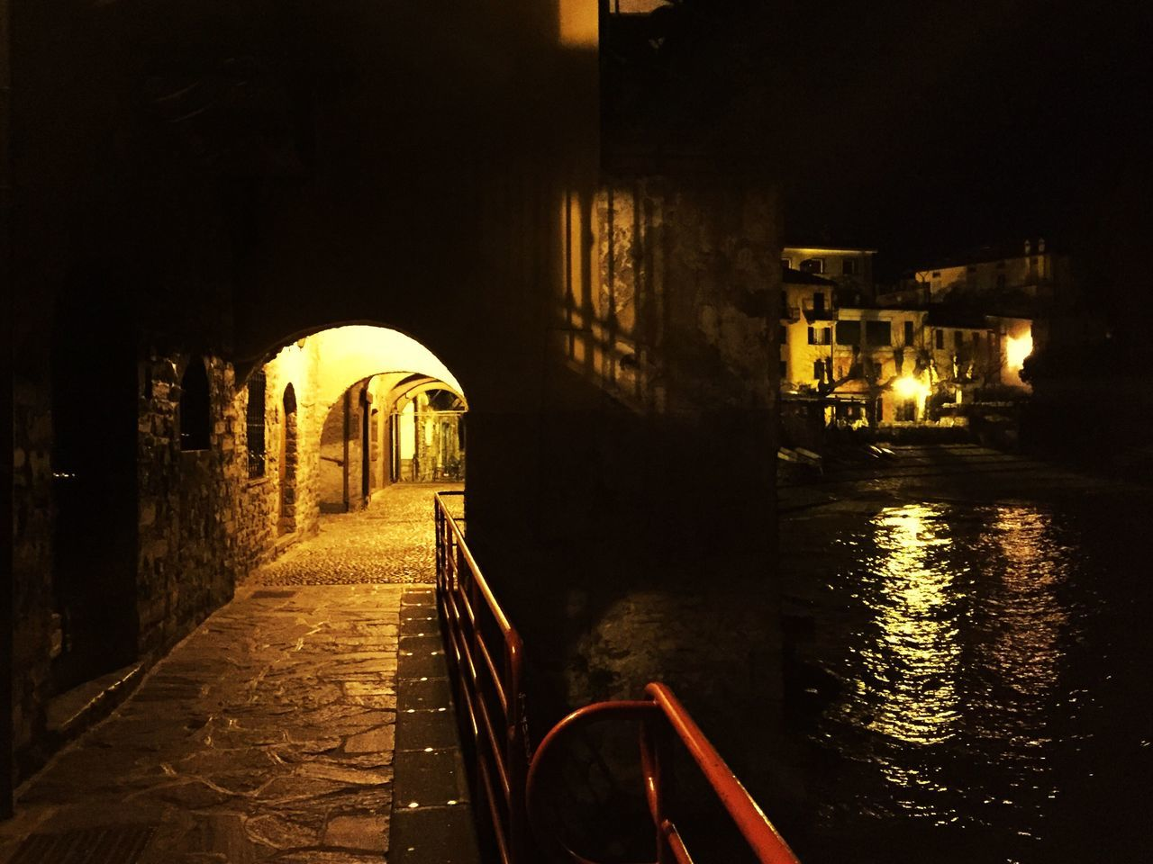 Architecture Built Structure Transportation The Way Forward Arch Illuminated Night No People Building Exterior Outdoors Tranquil Scene Scenics Bridge - Man Made Structure Lakecomo Waterfront Panorama Tranquility Lake View Landscape Travel Destinations Water Architecture