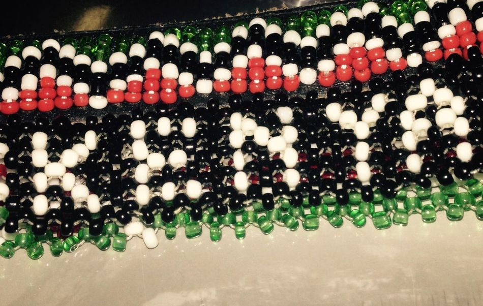 Beads Bracelet Close-up Flag Colours Kenya Kenya Flag No People