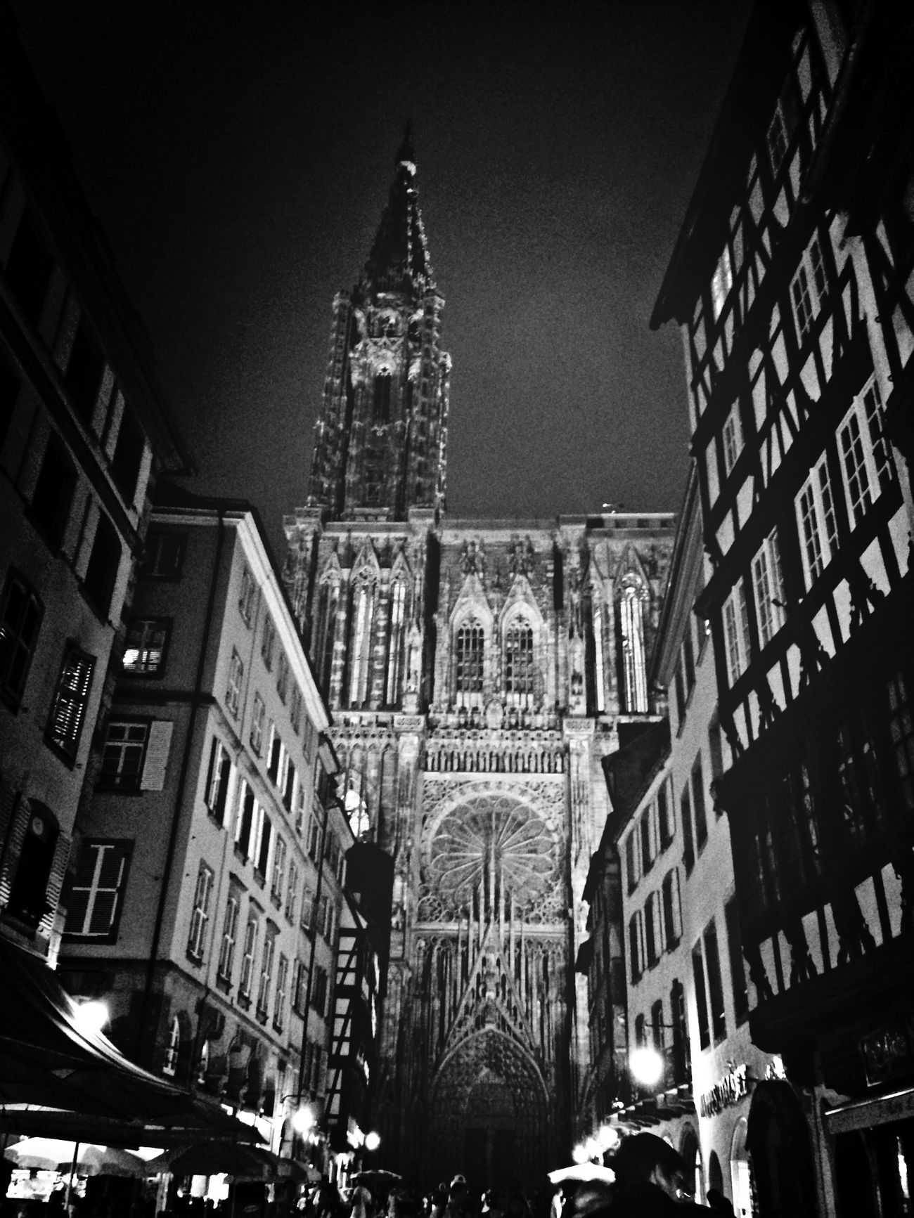 Blackandwhite Architecture Cathedral Strasbourg