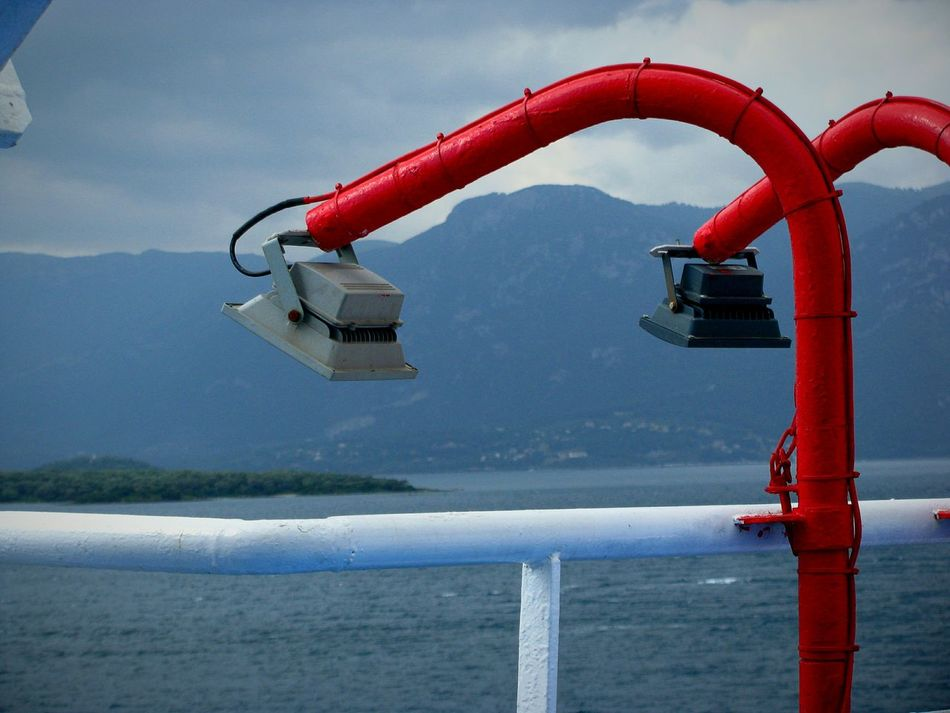 Close Up Technology Ship Lights On A Ship Travel Lights Cloudy Day Greek Islands Transportation Aegean Sea Beauty In Nature Still Life Seascape Sea Nature Landscapes Summer Memories 🌄 Backgrounds Landscape Greece Shades Of Blue Blue Red Blue Sea Long Goodbye Live For The Story Connected By Travel
