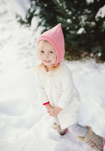 in the snow...♡ Hi! Enjoying Life
