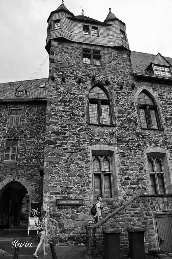 Germany Deutschland Solingen Schloß Burg - Solingen Blackandwhite Monochrome Photography
