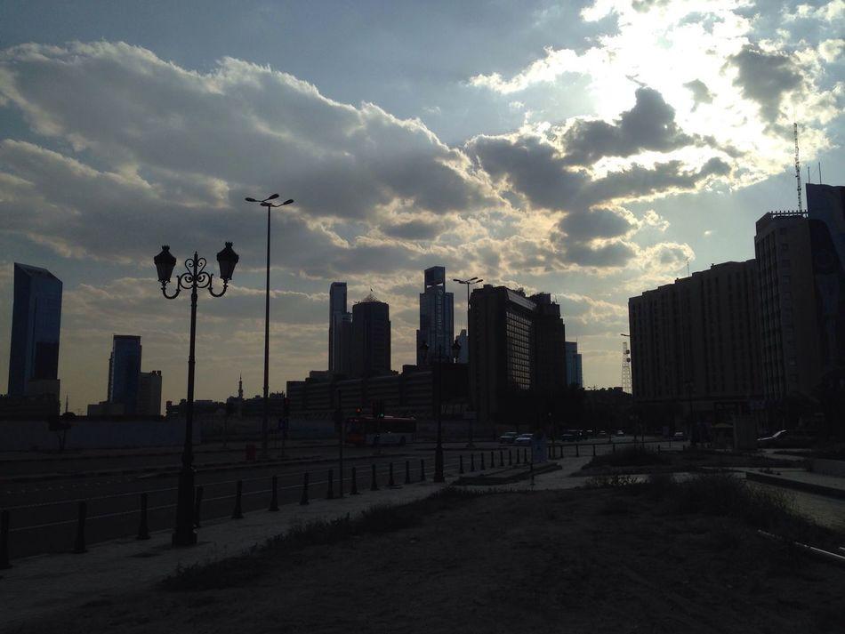 City Sunset No People Cityscape Kuwait Kuwait Downtown Sunlight Sunset Sun Kuwait City Kuwait❤ الكويت وسط_المدينة