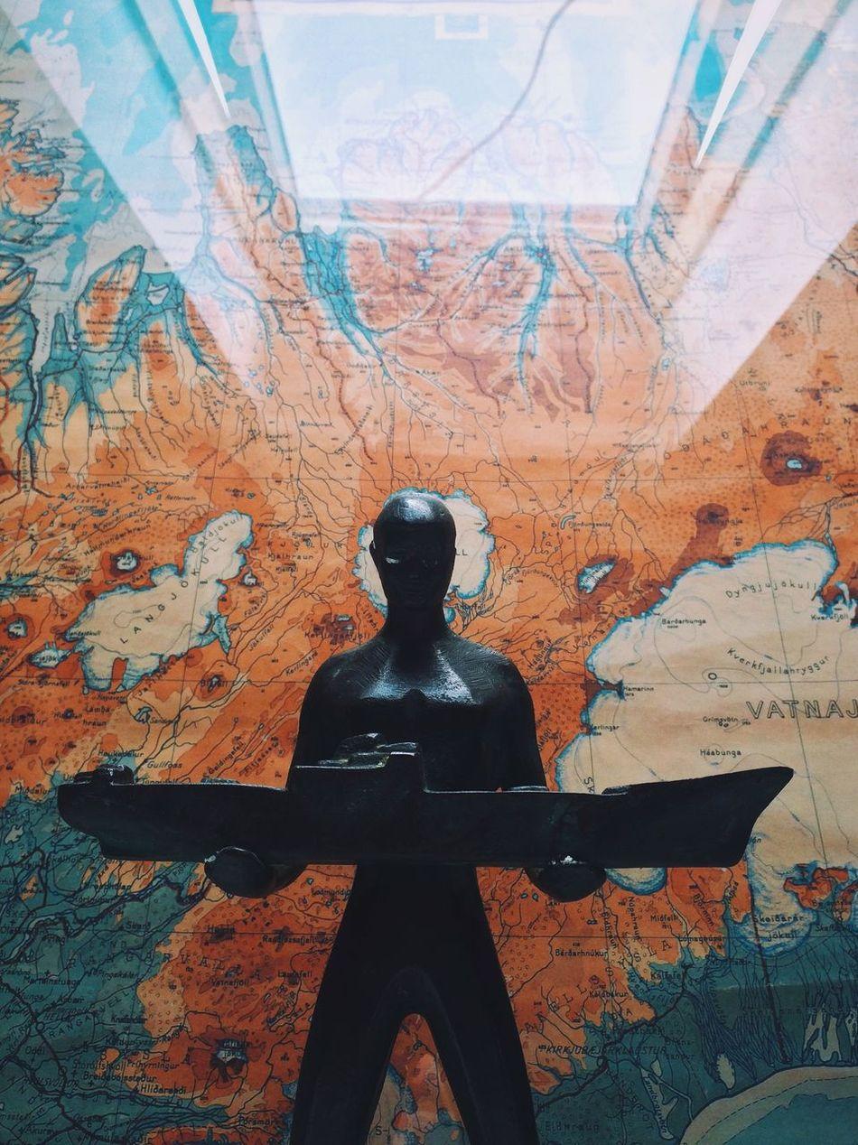 Iceland Statue 3.Maj