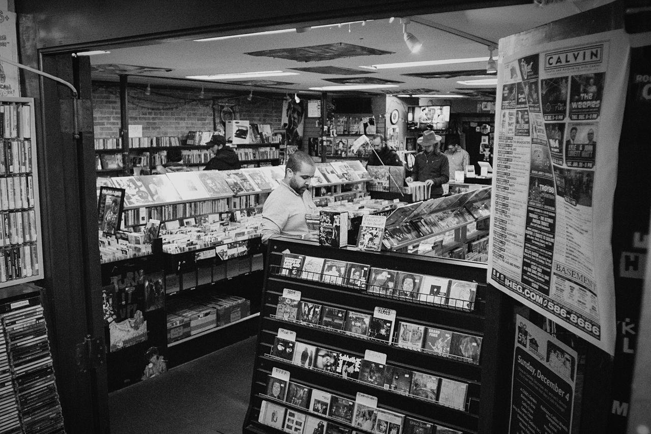 Indoors  Store Archival Retail  Records Vinyl Vinyl Records New England  Northampton MA Massachusetts