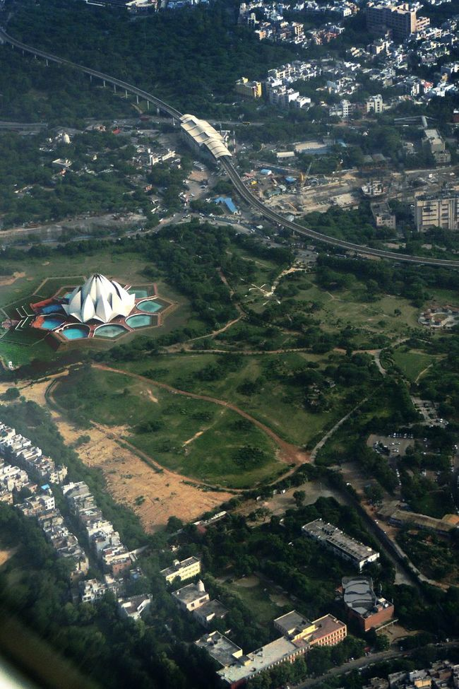 Seeing The Sights Bahai Temple Lotus Temple Aerial Shot Check This Out! Showcase: November India Cityscape