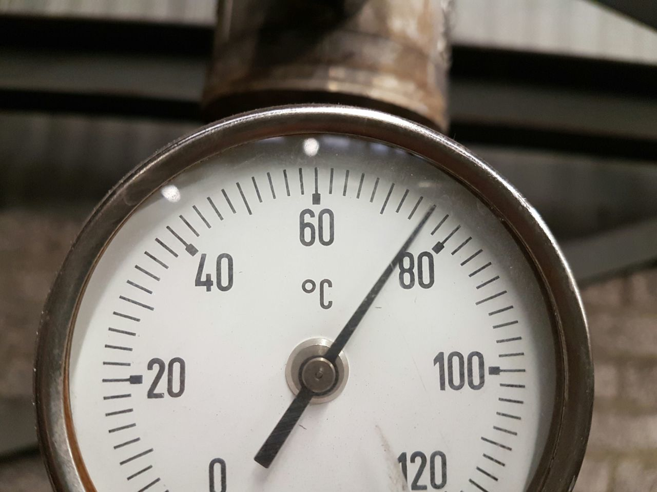 Temperature Thermometer Close-up Meter - Instrument Of Measurement Heat - Temperature Pressure Gauge Work Numbers No People PhonePhotography Indoors  Gauge Measurement Measuring Degrees Industrial Industry Factory