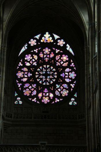 Church Glasswindows Creative Light And Shadow Colorful Church Window Churchporn Going To Church
