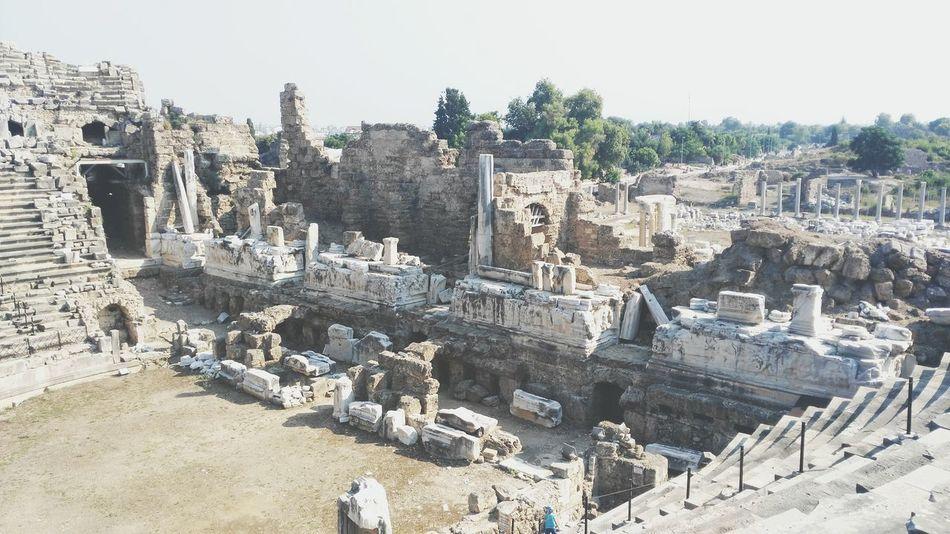 Agustos 2015 Antik Theater Side Manavgat
