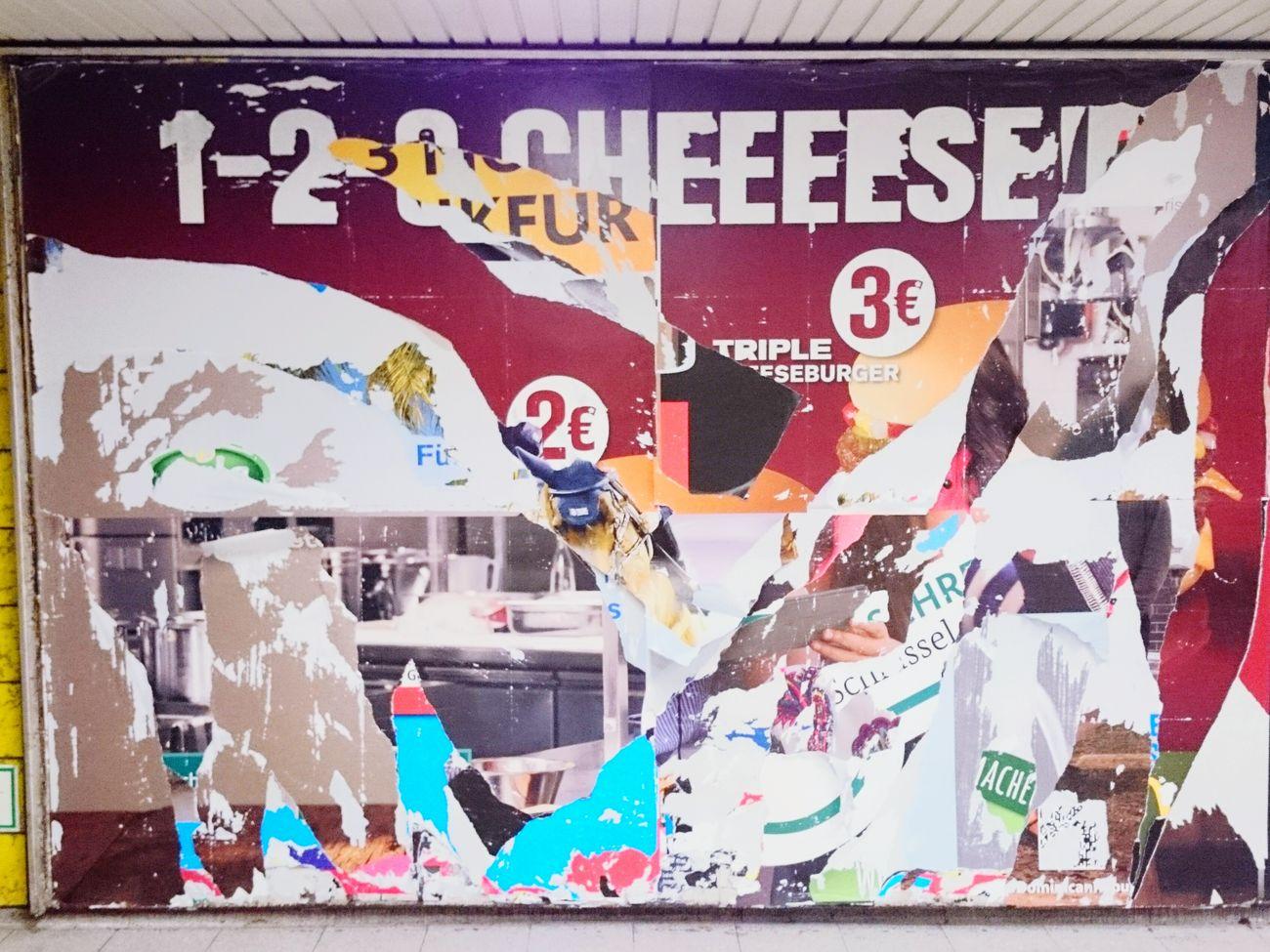 Plakatkunst /// Urban Art 18/1 Poster