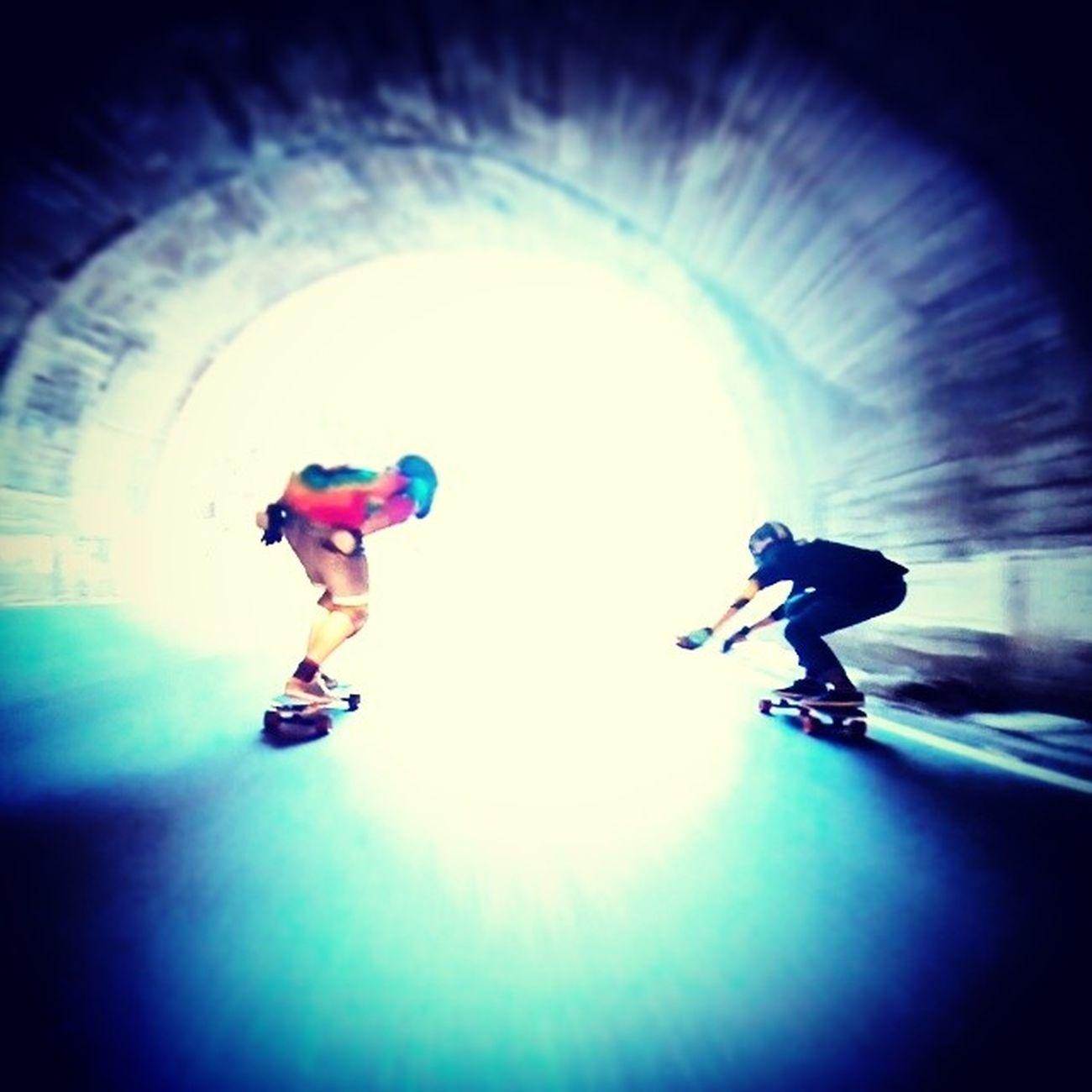 Fire Tunel Longboard Speed No Look Streets Downhill Longskate Malakassputosuo Malakahill