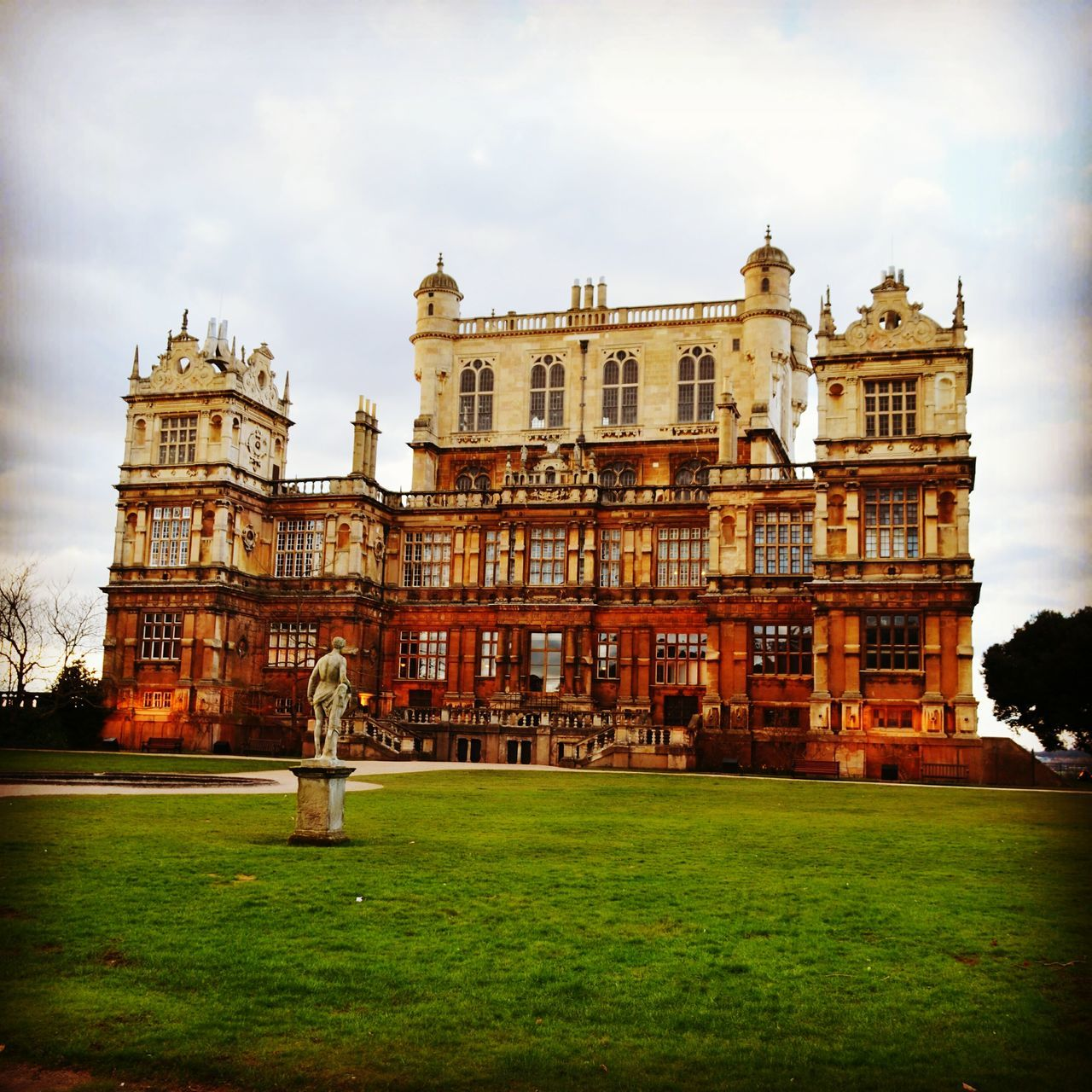 Wollaton Hall Wollatonpark Sunset Quiet Art Photography Park Nottingham Travel Photography Nature Holiday Art Beautiful Day Travel Adventure