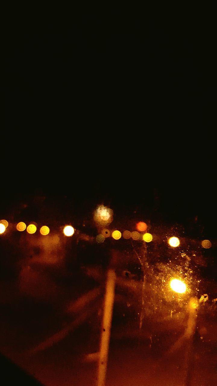 night, illuminated, no people, lighting equipment, defocused, street light, transportation, outdoors, close-up, sky
