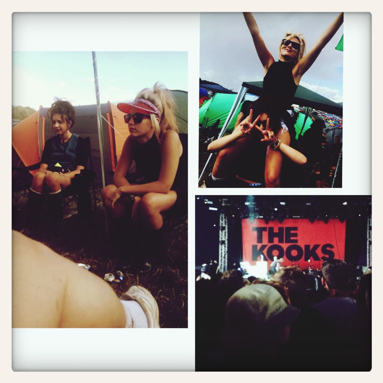 LEEDS FEST? The Kooks Girlies Leeds Festival