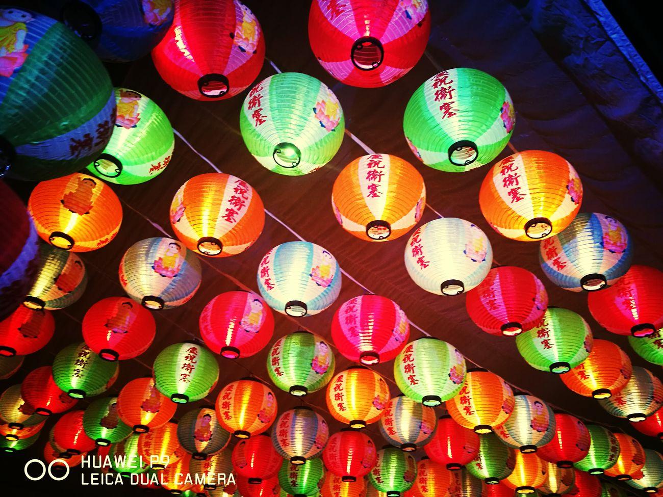 Chinese Lanterns In Vesak Day 2017 in Sri Lanka
