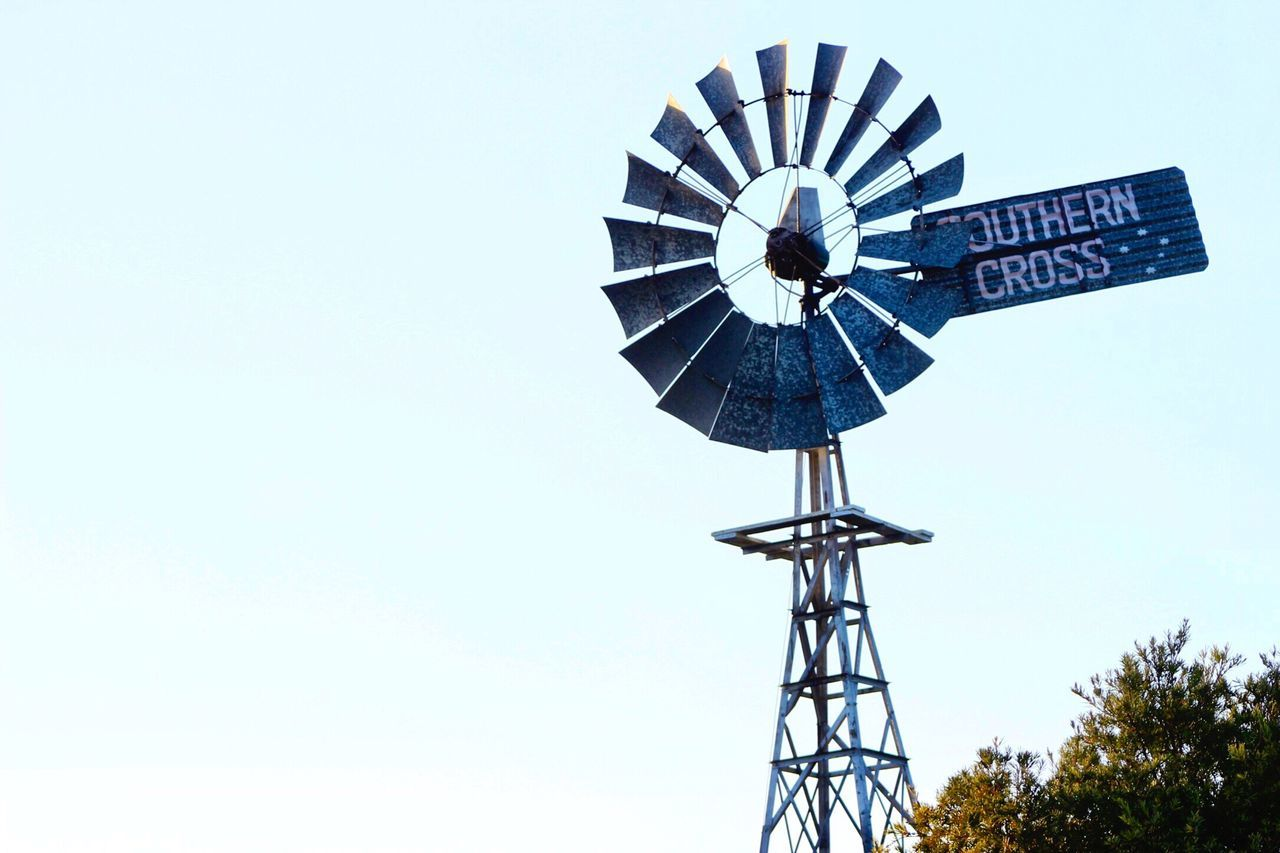 Southern Cross Bundaberg Queensland Australia Windmill Vintage Rustic True Blue