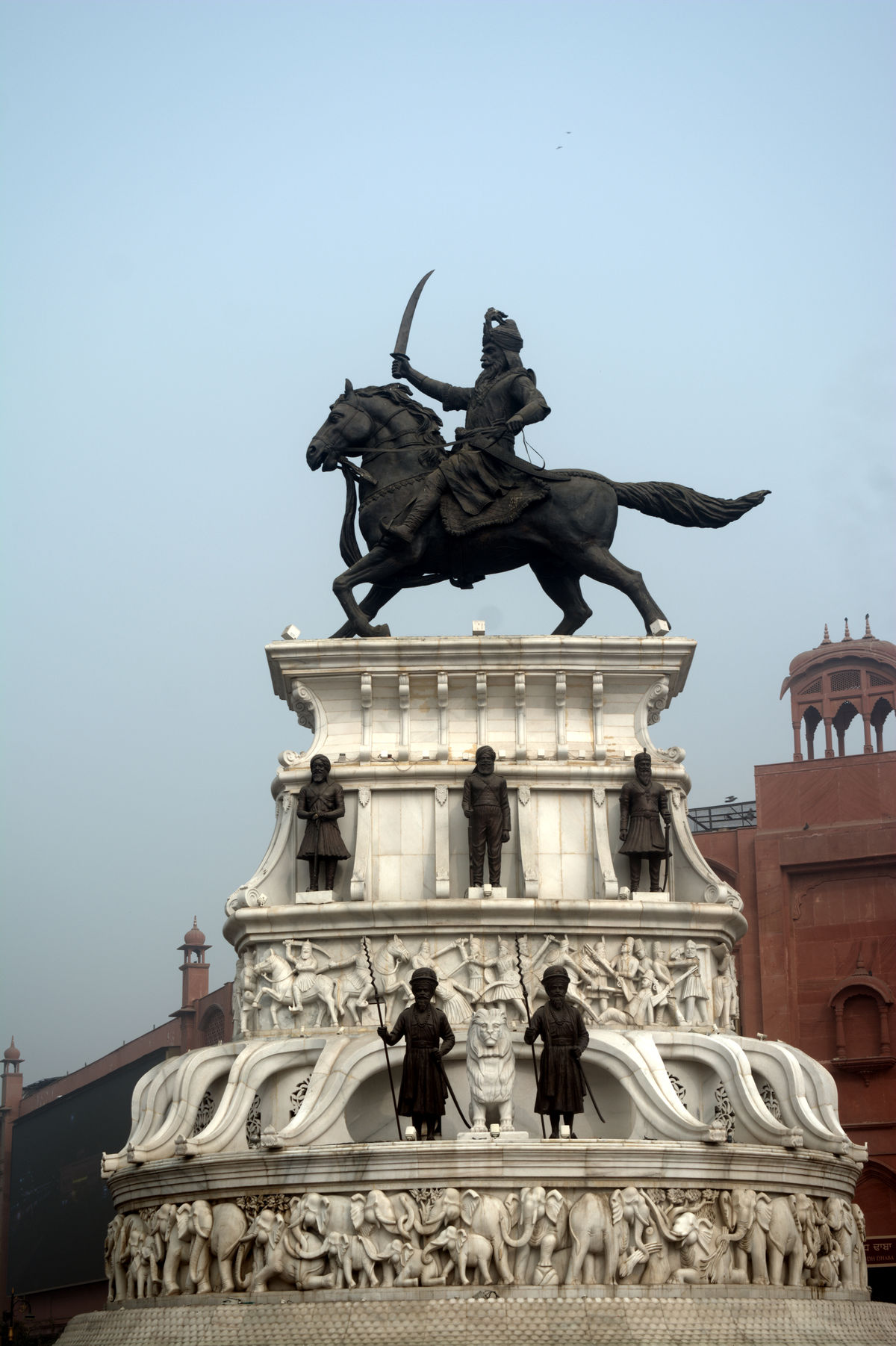 Architecture Art And Craft Creativity History Horse Human Representation Ranjit Singh Sculpture Statue Travel Destinations