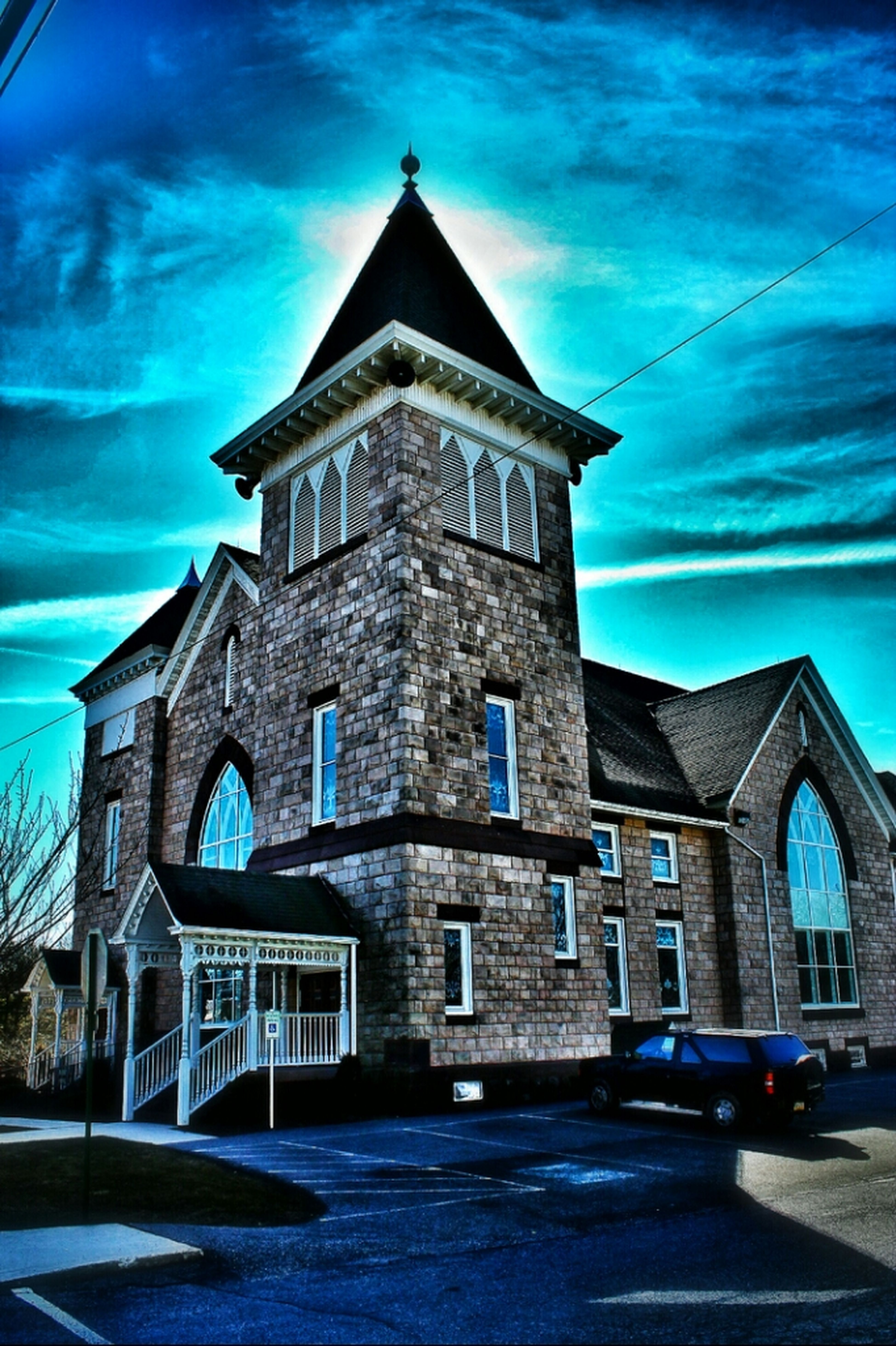 Church Photo HDR