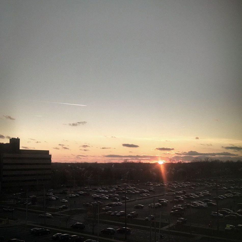 Sunset over Lovelansing .