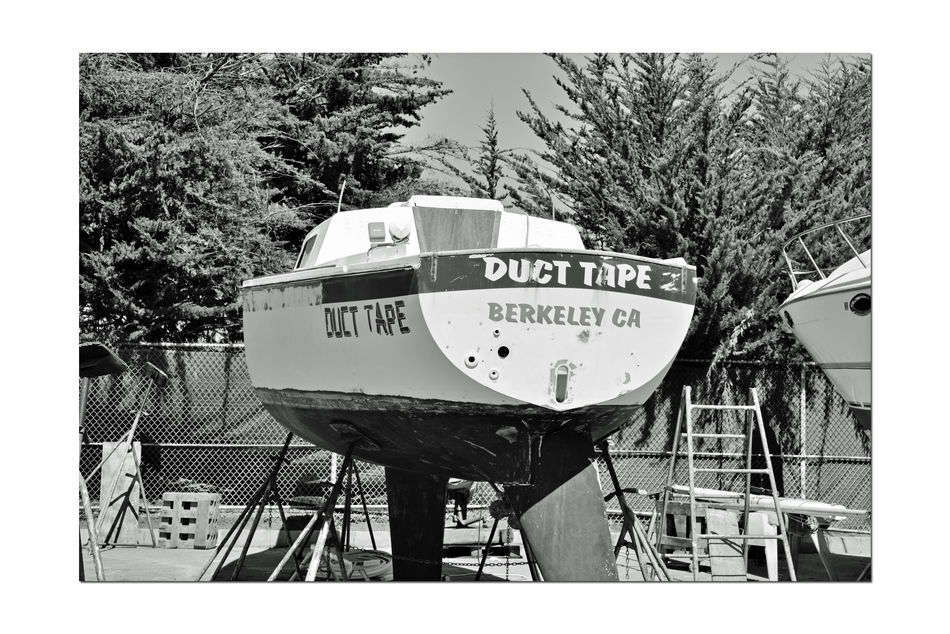 Boatyard @ Berkeley Marine Center 8 Berkeley, Ca. Boat Repair And Restoration Custom Yacht Builder Boatyard Yachts Boats Bnw_friday_eyeemchallenge Water Craft Boats Being Repaired Boats In A Line Hulls Keels  Not Quite Ready For Water Wood Boat Ladders Boat Being Prepped For Painting Monochrome Black & White Black And White Photography Black And White Black And White Collection