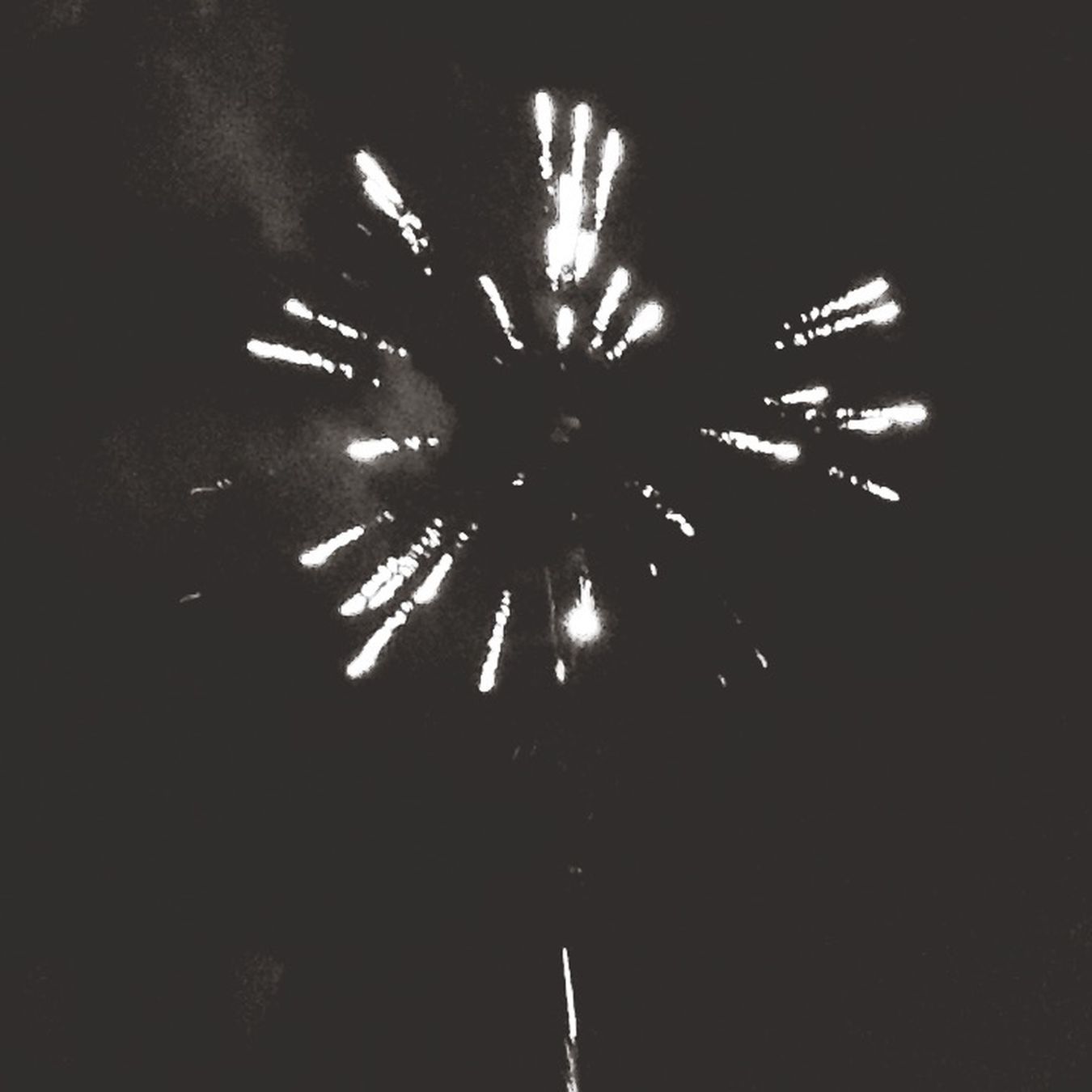Fireworks Black & White POP! BOOM! WOW