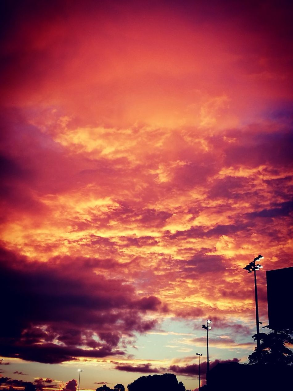 Sunset Dramatic Sky Beauty In Nature NZ :)