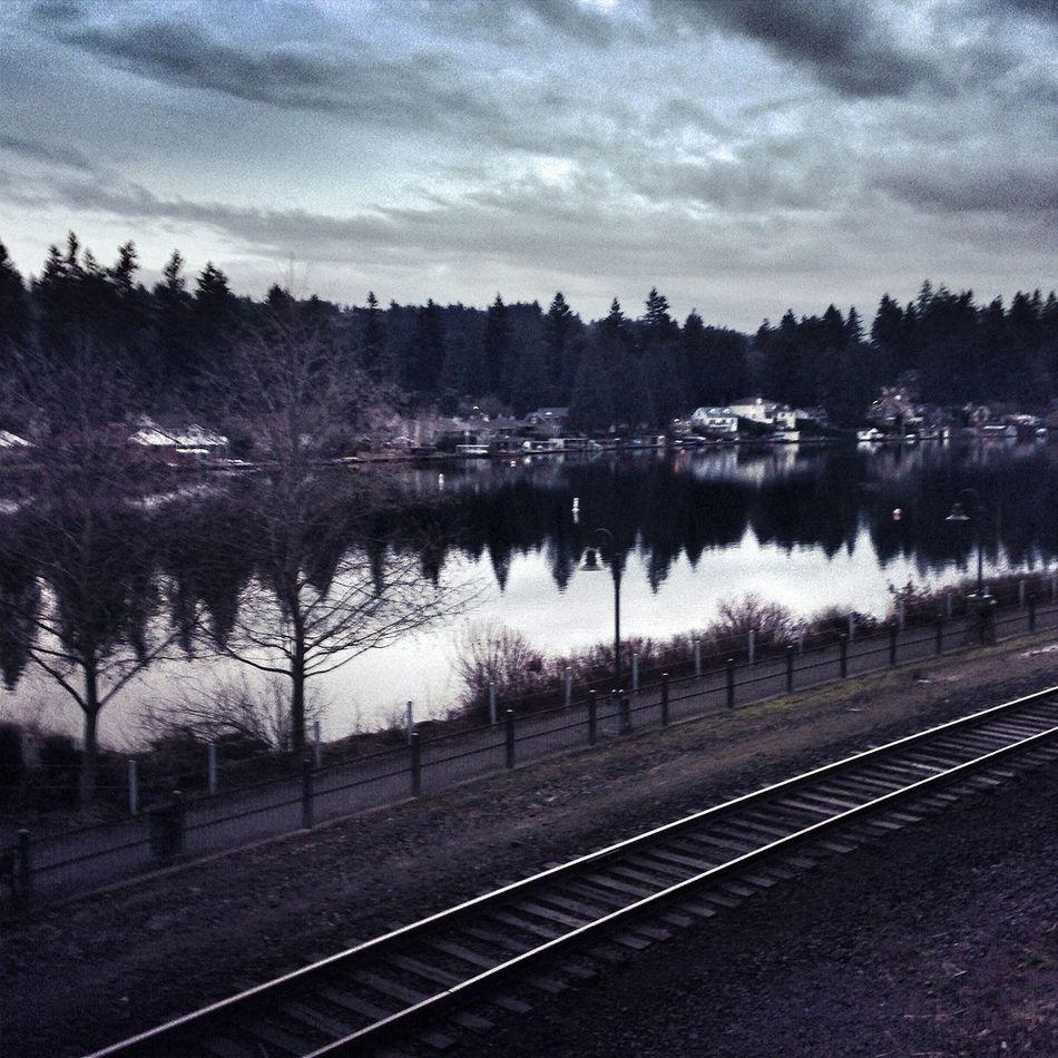 Lake Oswego Portland Clouds And Sky Reflection