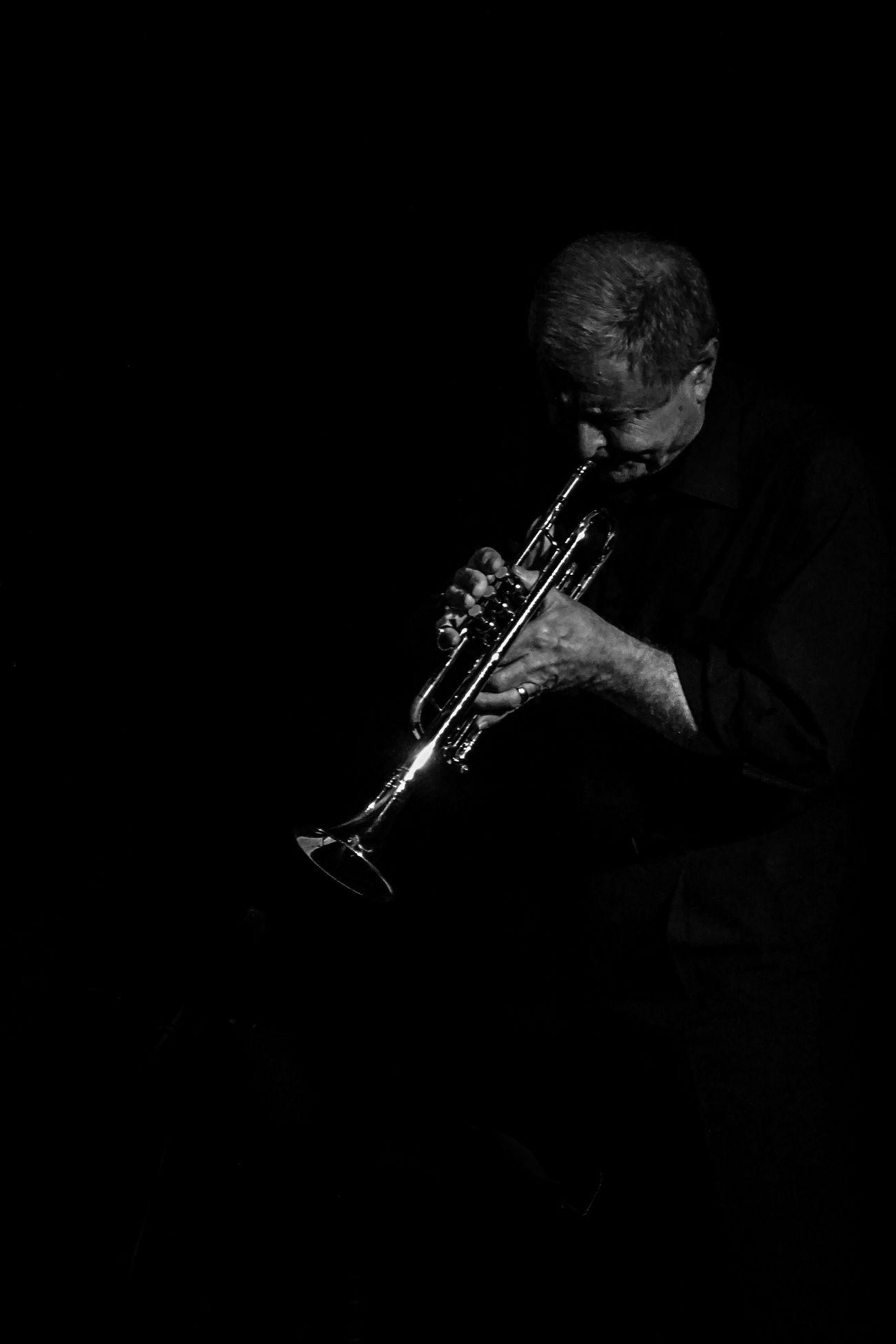 State Of Mind  Musician Trumpet Black&white Portrait A6000 B&W Portrait The Portraitist - 2015 EyeEm Awards