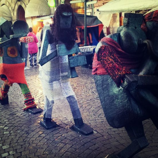 Streetart ?? Malmöfestivalen Dressed Statues Check This Out