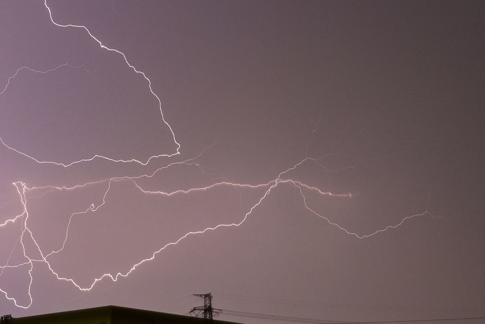 Beautiful stock photos of lightning, Atmospheric Mood, Beauty In Nature, Clear Sky, Electricity