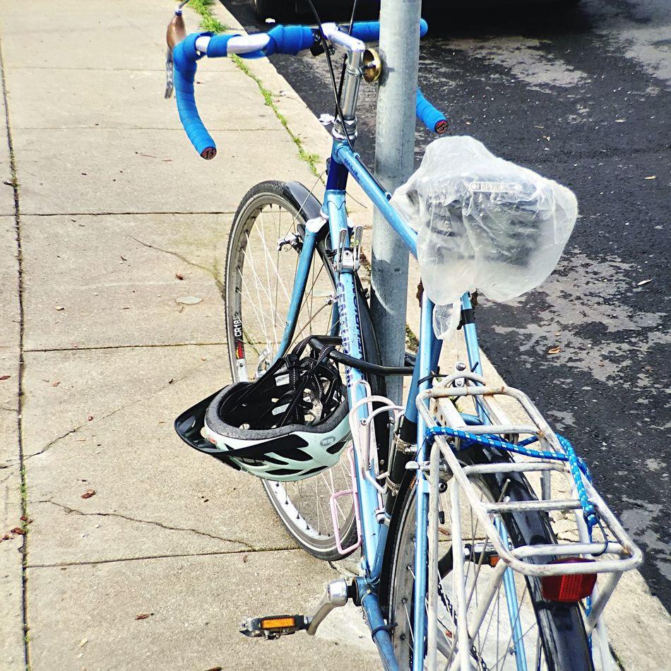 Bike Walking Around Iphone 6 Rainy Days Moment Lens