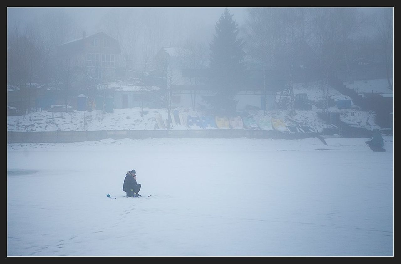 Cold Temperature Frozen One Person People Landscape Fog Only Men Outdoors Winter Horizontal Ice Nature Person Day Streetphoto Street Photography Street Street Portrait Streetphotography Still Life StillLifePhotography Still Life Photography Canon EF 100-400 L IS USM Canon EOS 5D Mark II Canon 5D Mark II