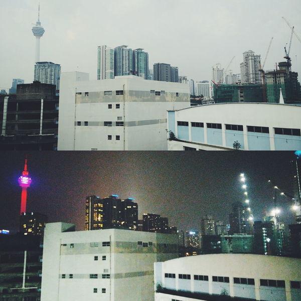 Cities At Night Dayvsnight